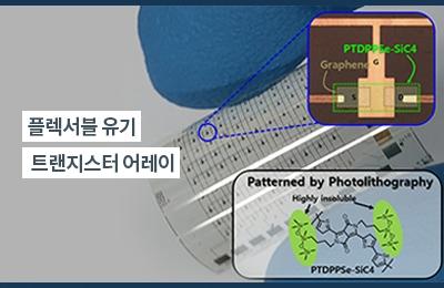 화공 오준학 교수팀, 웨어러블 스마트기기 상용화 앞당길 수 있는 원천 기술 개발