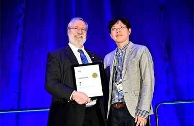 기계・화공 노준석 교수, 세계 최대 규모 국제광자공학회 '신진과학자상' 수상